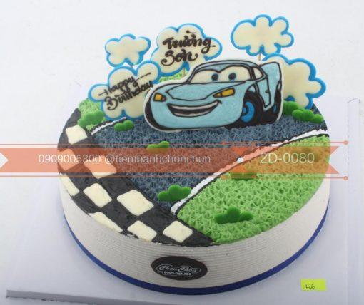Bánh kem hình ô tô hình xe hơi MS 2D-0080
