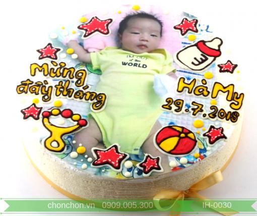 Bánh Kem In Hình Dễ Thương Dành Cho Bé MS IH-0030