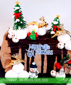 Bánh Kem Khúc Cây Noel Dễ Thương MS SP-0153