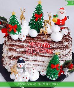 Bánh Kem Khúc Cây Noel Dễ Thương MS SP-0155