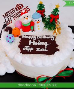 Bánh Kem Noel Dễ Thương MS SP-0158
