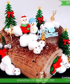 Bánh Kem Noel Khúc Cây Dễ Thương MS SP-0156