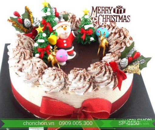 Bánh Kem Noel Trang Trí Dễ Thương  MS SP-0150