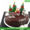 Bánh Kem Phủ Socola Dễ Thương Cho Mùa Noel MS SP-0151