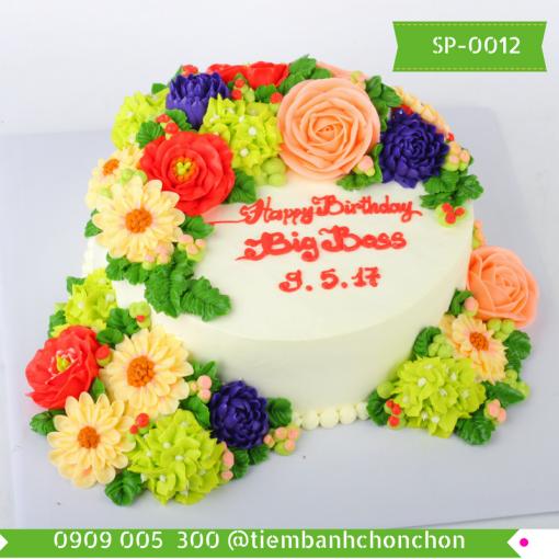 Bánh kem Simple 0012