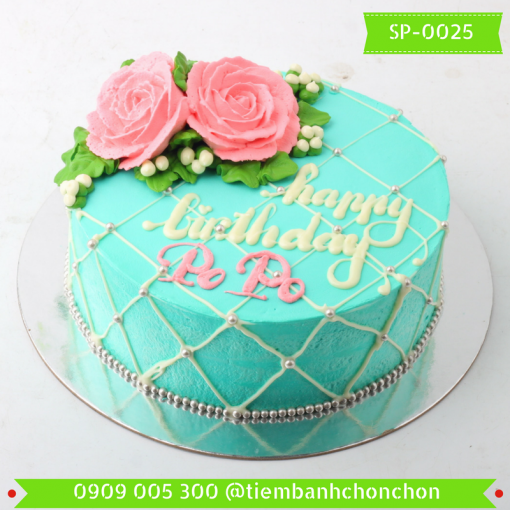 Bánh kem Simple 0025