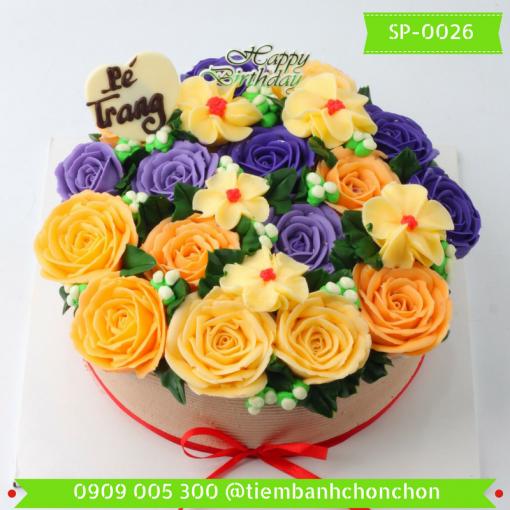 Bánh kem Simple 0026