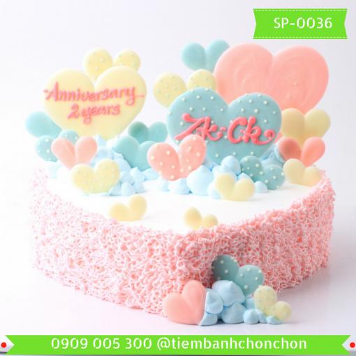 Bánh kem Simple 0036
