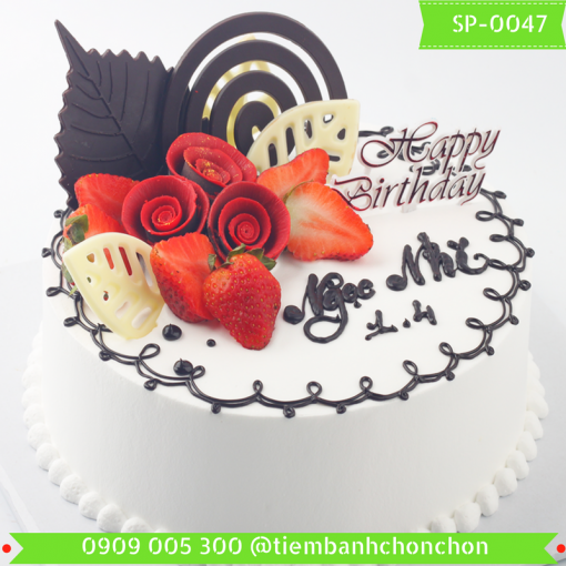 Bánh kem Simple 0047