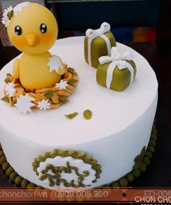 Bánh Kem Sinh Nhật Dành Cho Bé Tuổi Gà Dễ thương MS FD-0068