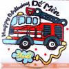 Bánh Kem Sinh Nhật Dễ Thương Dành Cho Bé Trai Thích Xe Cứu Hỏa MS V-0009