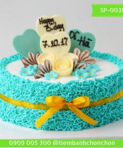 Bánh Kem Sinh Nhật Trang Trí Đơn Giản Dễ Thương MS SP-0031