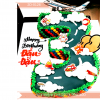 Bánh Kem Tạo Hình Theo Số Tuổi Bé Dễ Thương MS 2D-0126