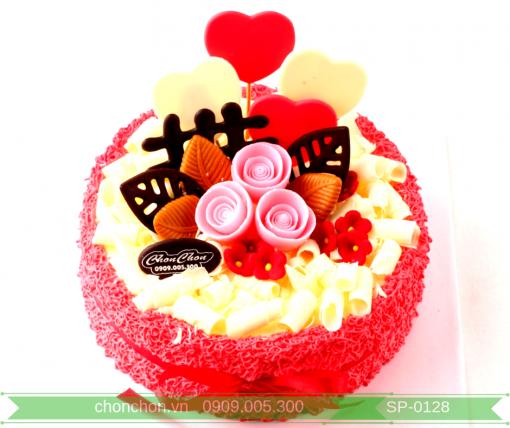 Bánh Kem Trang Trí Đơn Giản Dễ Thưong MS SP-0128