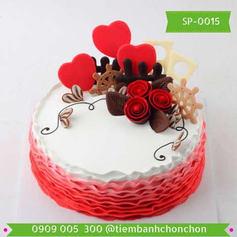 Bánh Kem Trang Trí Đơn Giản MS SP-0015