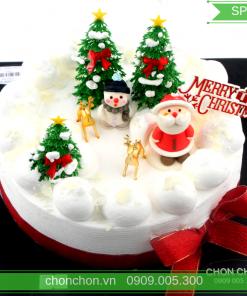 Bánh Kem Trang Trí Noel Dễ Thương MS SP-0149
