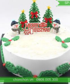 Bánh Kem Trang Trí Noel Dễ Thương MS SP-0152