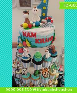 Bánh sinh nhật cho bé  trai Mã Số  FD-0006