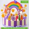 Bánh sinh nhật dễ thương cho bé gái Mã Số FD-0004