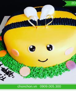 Bánh Sinh Nhật Hình Con Ong Dễ Thương MS 2D-0180