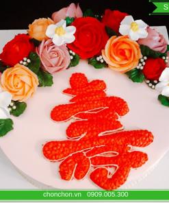 Bánh Sinh Nhật Mừng Thọ Ông Bà MS SP-0181