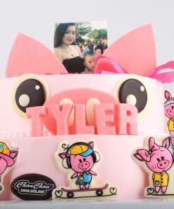 Bánh sinh nhật đẹp cho bé gái